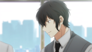 Ugetsu smiling at his classmates (33)