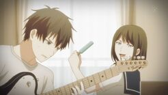 Yayoi telling Ritsuka that he sucks