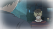 Yagi asking Hiiragi if he spoke to Mafuyu (39)