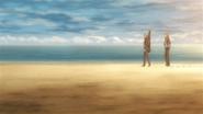 Yuki & Mafuyu walking by the shore (69)