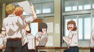 Shogo showing others Ryuu's drawing