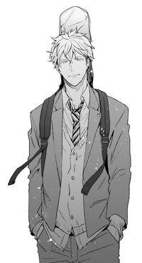 Yuki Yoshida manga full body