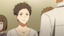 Tsubaki talking to Hiiragi (1)