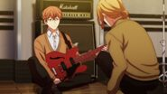Haruki telling Mafuyu that he's looking like a guitarist