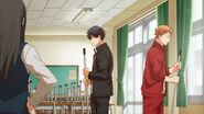 Ritsuka and Shogo return to sweeping