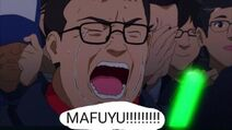 When Mafuyu performs on stage