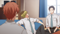 Mafuyu asking who the vocalist is (35)