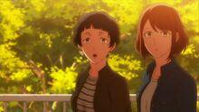 Kasai's friend notices Ritsuka and Mafuyu