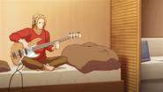 Haruki practising bass (22)