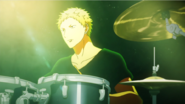 Akihiko Opening on the stage