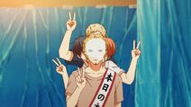 Ritsuka, Mafuyu, Akihiko, & Haruki doing peace signs