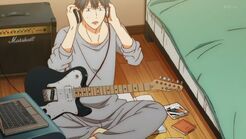 Ritsuka takes off his headphones and asks Yayoi what she wants