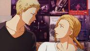 Haruki being turned around by Akihiko