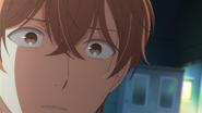 Akihiko asking Mafuyu if he wants to run away (55)