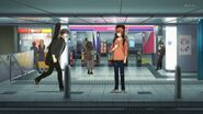 Ritsuka managing to find Mafuyu at the station