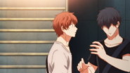 Ritsuka telling Mafuyu he will go play another song (45)