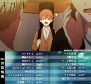 Broadcast dates Episode 1