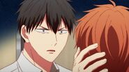 Ritsuka telling Mafuyu to let all of his feelings out