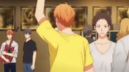 Shogo waving at Mafuyu & Ritsuka (91)