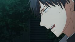 Ritsuka trying to take a breath