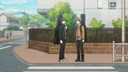 Ritsuka meeting Mafuyu at the crosswalk