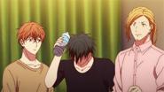 The band wondering about Akihiko's idea (53)