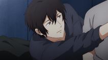 Ugetsu grabbing Akihiko's smoke (16)