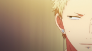Akihiko looking at Haruki thinking that Ritsuka is really into it Ep1