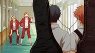 Shogo calling to Mafuyu and Ritsuka