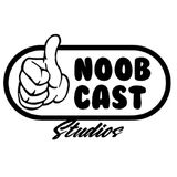 Noob Cast Logo BW square