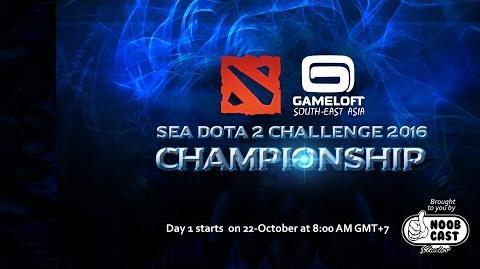 The Gameloft International SEA Dota 2 Tournament - Day 1 - Wildcard