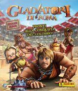 Gladiators of Rome Panini sticker book