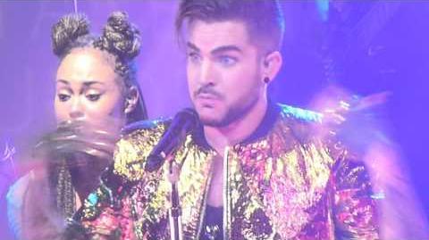 Adam Lambert - Lay Me Down, Shady, Fever - Sydney 2, 31 Jan 2016