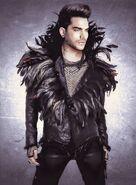 Adam Lambert feathers