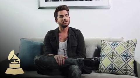 Adam Lambert Rapid Fire GRAMMYs