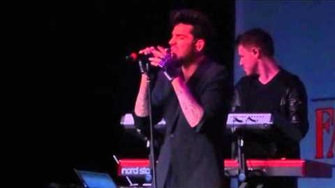 Adam Lambert - Wicked Game - MSG Theater NY - 8th of October 2015