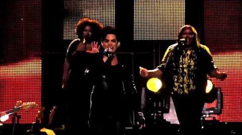 Adam Lambert Naked Love Jimmy Kimmel Live HD