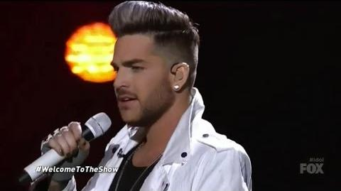 Adam Lambert 'Welcome To The Show' on American Idol