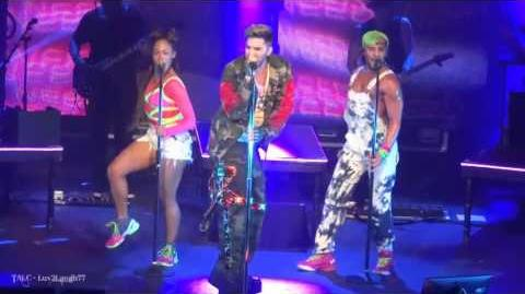 TALC HD - Adam Lambert - Lay Me Down, Shady & Fever - -TohUSTour - Terminal 5 NYC