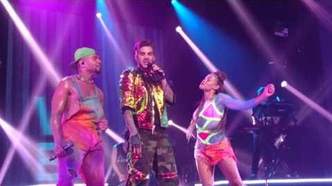 """Fever"" Sydney2 Jan31.2016 Adam Lambert"