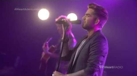 Adam Lambert - The Original High - Live iHeartRadio