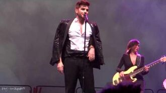 HD - Adam Lambert - Kickin In - Winstar Casino, OK - New Years Eve 2013
