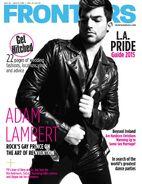 Adam Lambert mag2