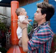 Adam Lambert wibaby