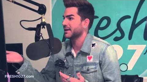 Adam Lambert Plays The Most Awkward Game, Fresh 102.7, 2015