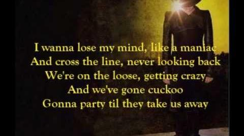 Adam Lambert - Cuckoo (lyrics)