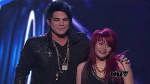 Adam Lambert & Allison Iraheta-American Idol Top 4 Slow Ride(HD)