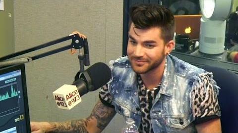 Adam Lambert Talks GLEE, Justin Bieber, Sam Smith And More With Sarah And Vinnie