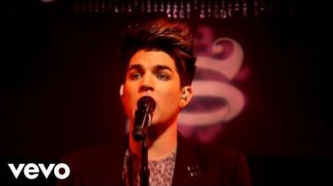Adam Lambert - Trespassing (AOL Sessions)