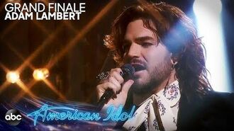 "Adam Lambert Performs ""New Eyes"" - American Idol 2019 Finale"